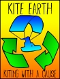 kite earth logo rectangular sun fade
